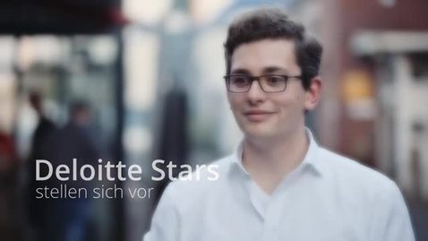 Thumbnail for entry Deloitte Stars Insights | David
