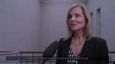 Thumbnail for entry Neue Arbeitswelt: Welche Rolle spielen Ecosysteme & Vernetzung? | Mit Kathrin Haug von Deloitte