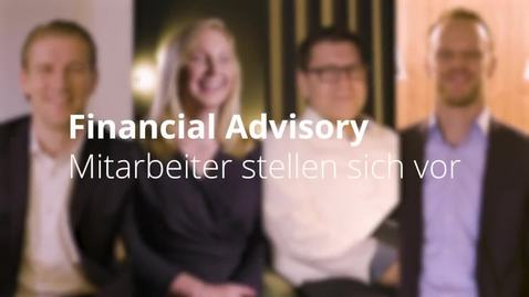 Thumbnail for entry Financial Advisory | Restructuring Services – Mitarbeitervideo Oliver Böhner