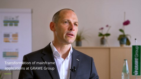 Thumbnail for entry Transformation of mainframe applications and decommissioning of mainframe at GRAWE Group
