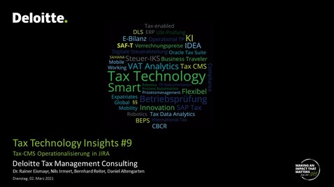 Thumbnail for entry Tax Technology Insights #9