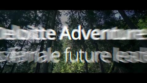 Thumbnail for entry The Deloitte Adventure 2019