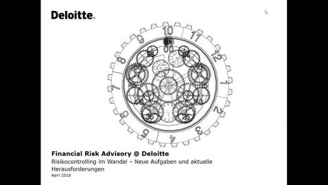 Thumbnail for entry Deloitte Stay in Touch Community Webinar- Financial Risk Advisory @ Deloitte