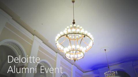 Thumbnail for entry Deloitte Alumni Event in München