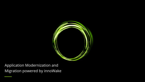 Thumbnail for entry Application Modernization and Migration powered by innoWake