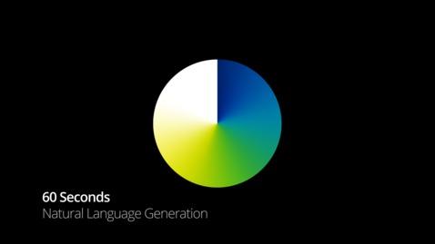 Thumbnail for entry Natural Language Generation