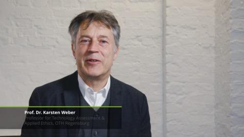 Thumbnail for entry Deloitte Digital Talks: Digital Ethics – Interview mit Karsten Weber