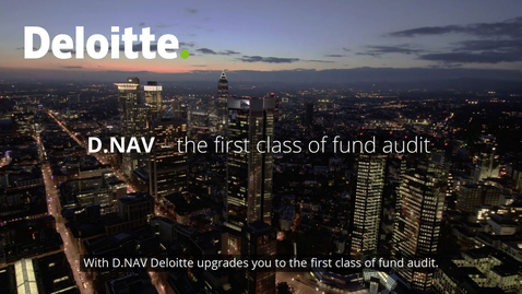 Thumbnail for entry D.NAV – The first class in fund audit