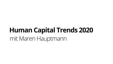 Thumbnail for entry Human Capital Trends 2020 mit Maren Hauptmann   Deloitte Deutschland