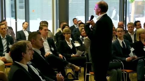 Thumbnail for entry Welcome Day - Deloitte begrüßt die neuen Mitarbeiter