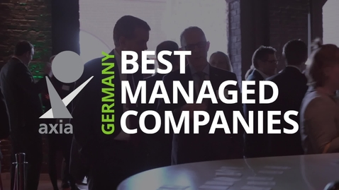 Thumbnail for entry Bewerbung zum Axia Best Managed Companies Award 2020