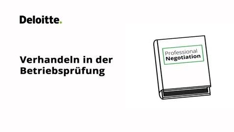 Thumbnail for entry Verhandeln in der Betriebsprüfung