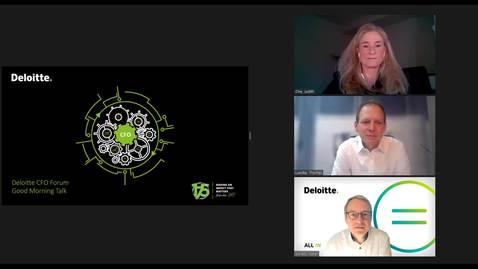 Thumbnail for entry Deloitte CFO Forum Good Morning Talk 03.12.2020